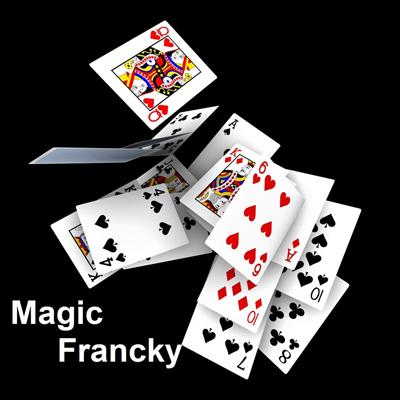 cartes-magic-francky, mariage, anniversaire enfant, entreprise, restaurant .