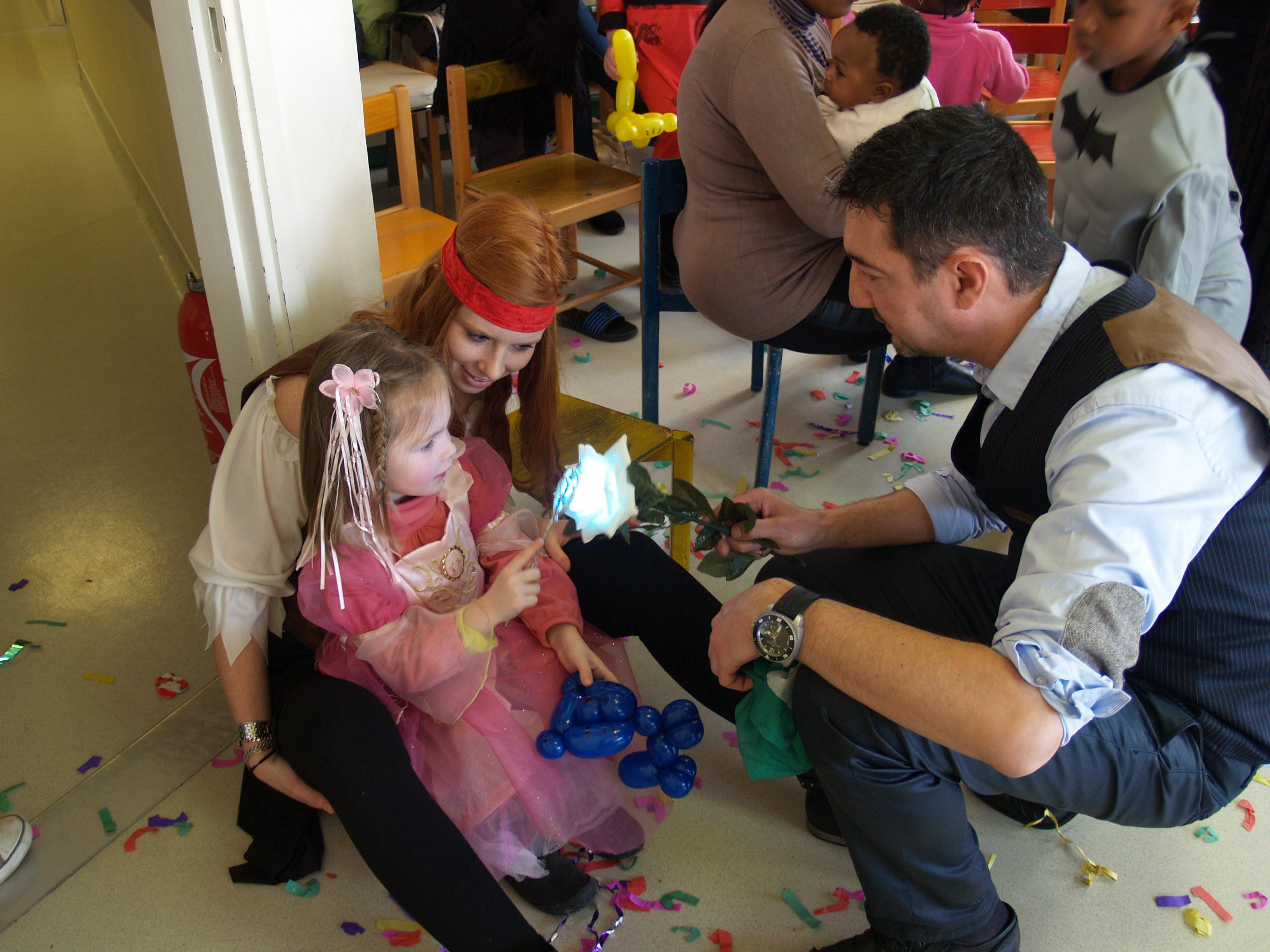 la magie opère, Magie pour enfants avec franck LAROZA.