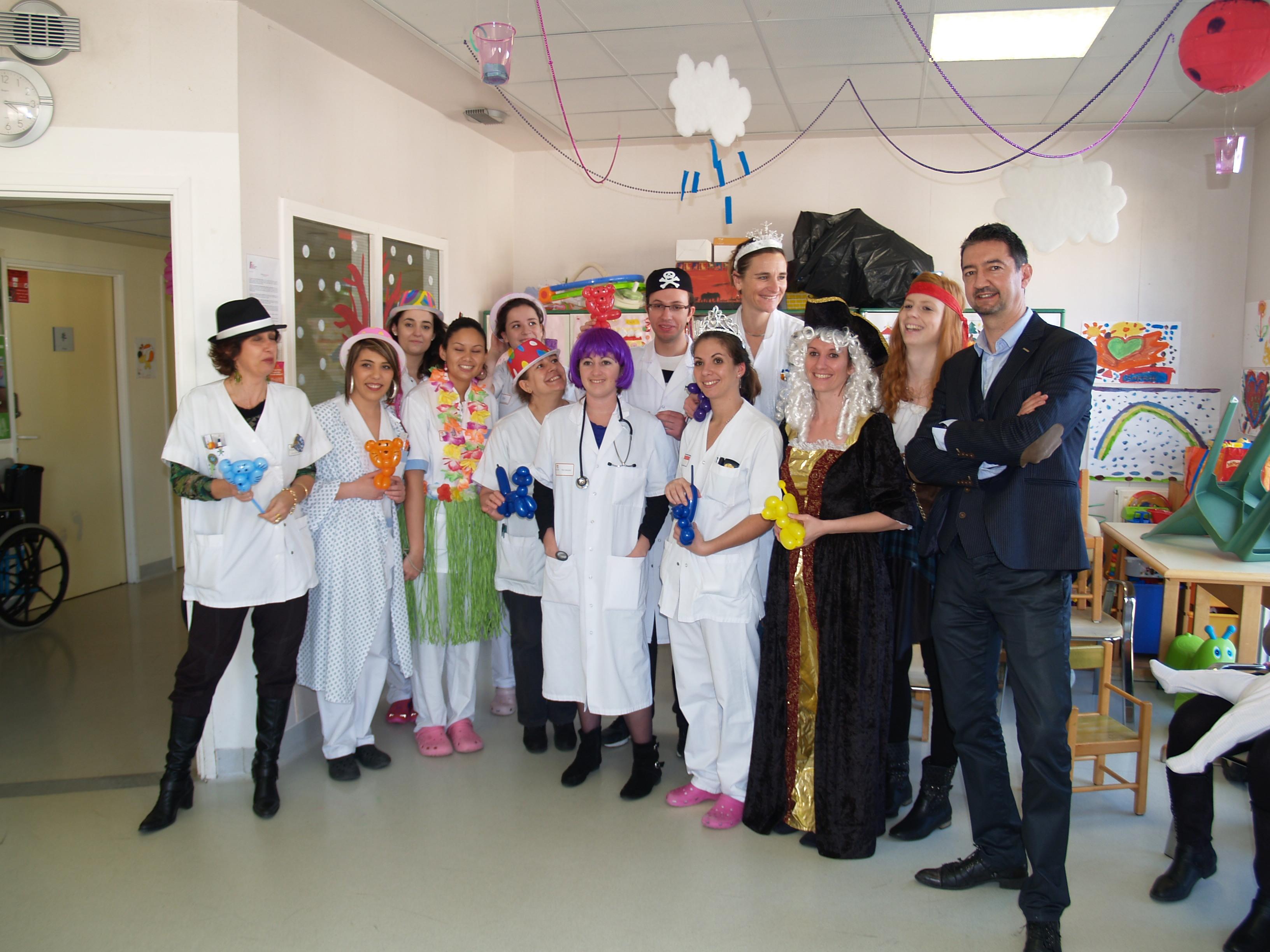 MAGIE ENFANTS A L'HOPITAL DE MONTAUBAN, TOULOUSE