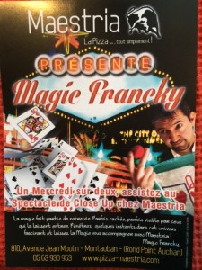 MAESTRIA présente Magic-Francky un mercredi sur deux