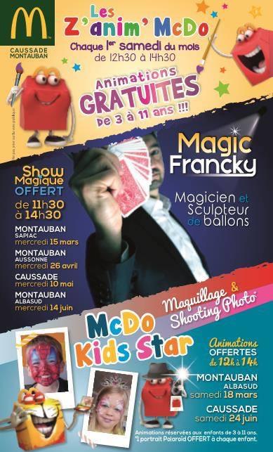 magic-francky et McDONALD'S
